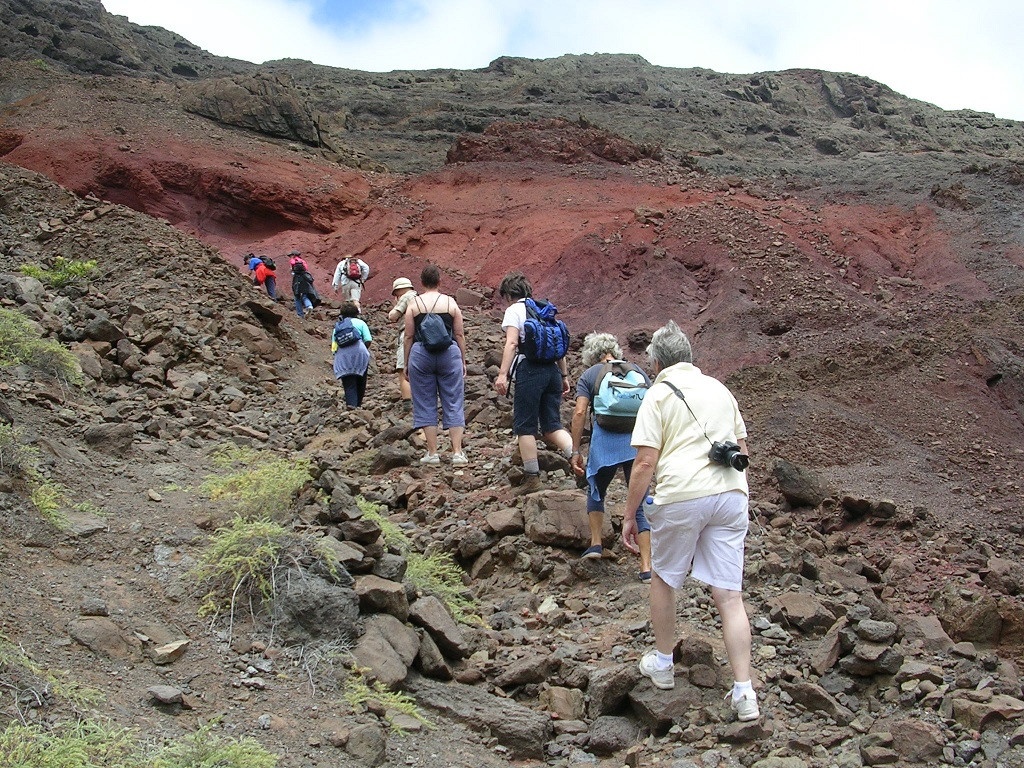 Hiking on St Helena