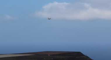 flight departing St Helena